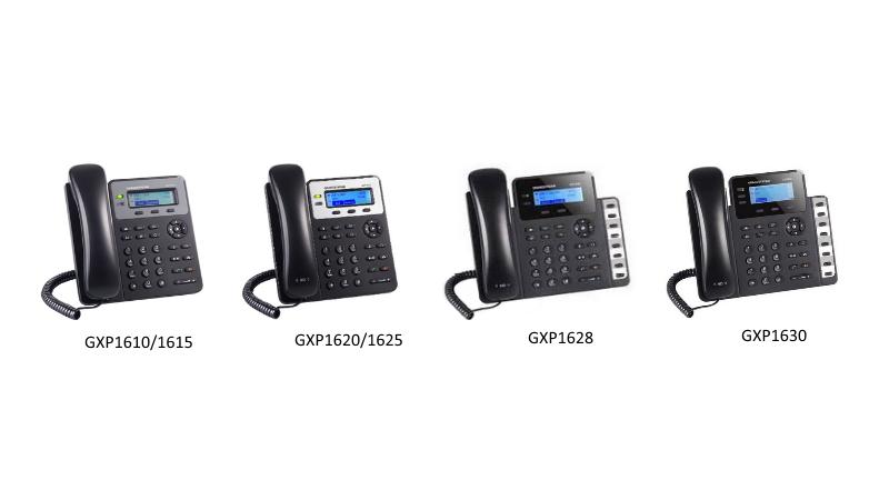 如何在3CX上配置Grandstream GXP16XX系列话机