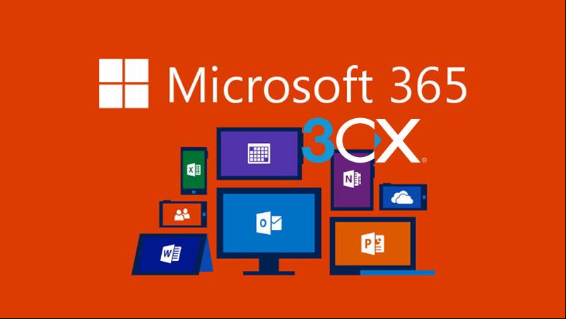 3CX Microsoft 365集成